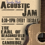 The Earl of Beaconsfield Acoustic Jam Night: details