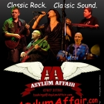 Asylum Affair gig at The Lion Brewery