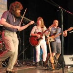 Kindred Spirit gig at Fleet Beer Festival