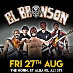 larger picture of El Bronson gig at The Horn